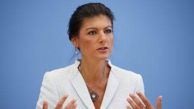 Wagenknecht: Bundesregierung verschweigt Impfdurchbruch-Dynamik