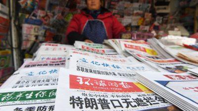 US-Justizministerium ordnet für chinesische Staatsmedien die Registrierung als ausländische Lobbyisten an