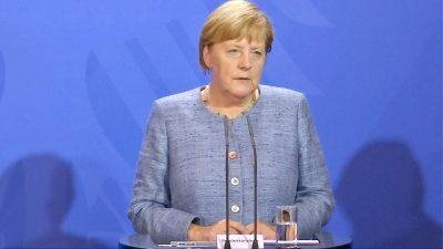 Merkel: Verfassungsschutz muss selbst über AfD-Überwachung entscheiden