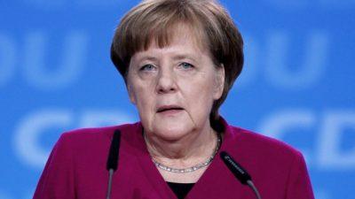 Merkel gesteht Fehler in Causa Maaßen ein