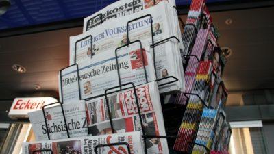 """Zeitungssterben in Deutschland geht weiter: Leitmedien fürchten um """"Räume ohne Kontrolle"""""""