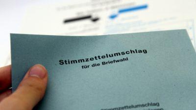 Landtagswahl: Anteil der Briefwähler in Baden-Württemberg steigt