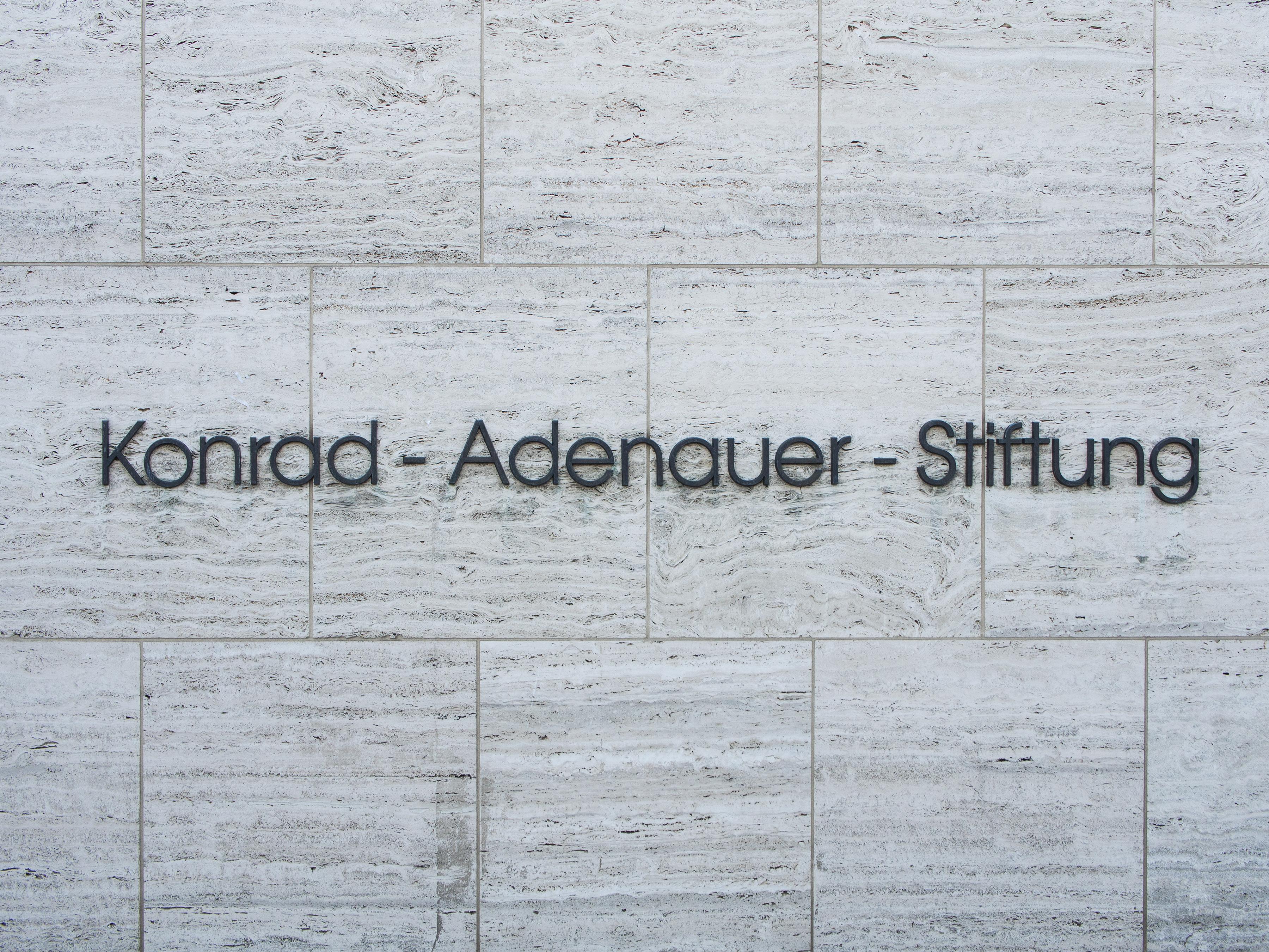 CDU-nahe Konrad-Adenauer-Stiftung warnt vor Manipulationen Pekings