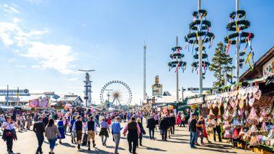 Herbstwetter, Zuckerwatte und 3,3 Millionen Wiesn-Besucher