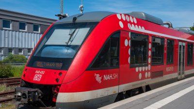 Zu wenig Lokführer – Bahn streicht Verbindungen im Norden rund um Lübeck