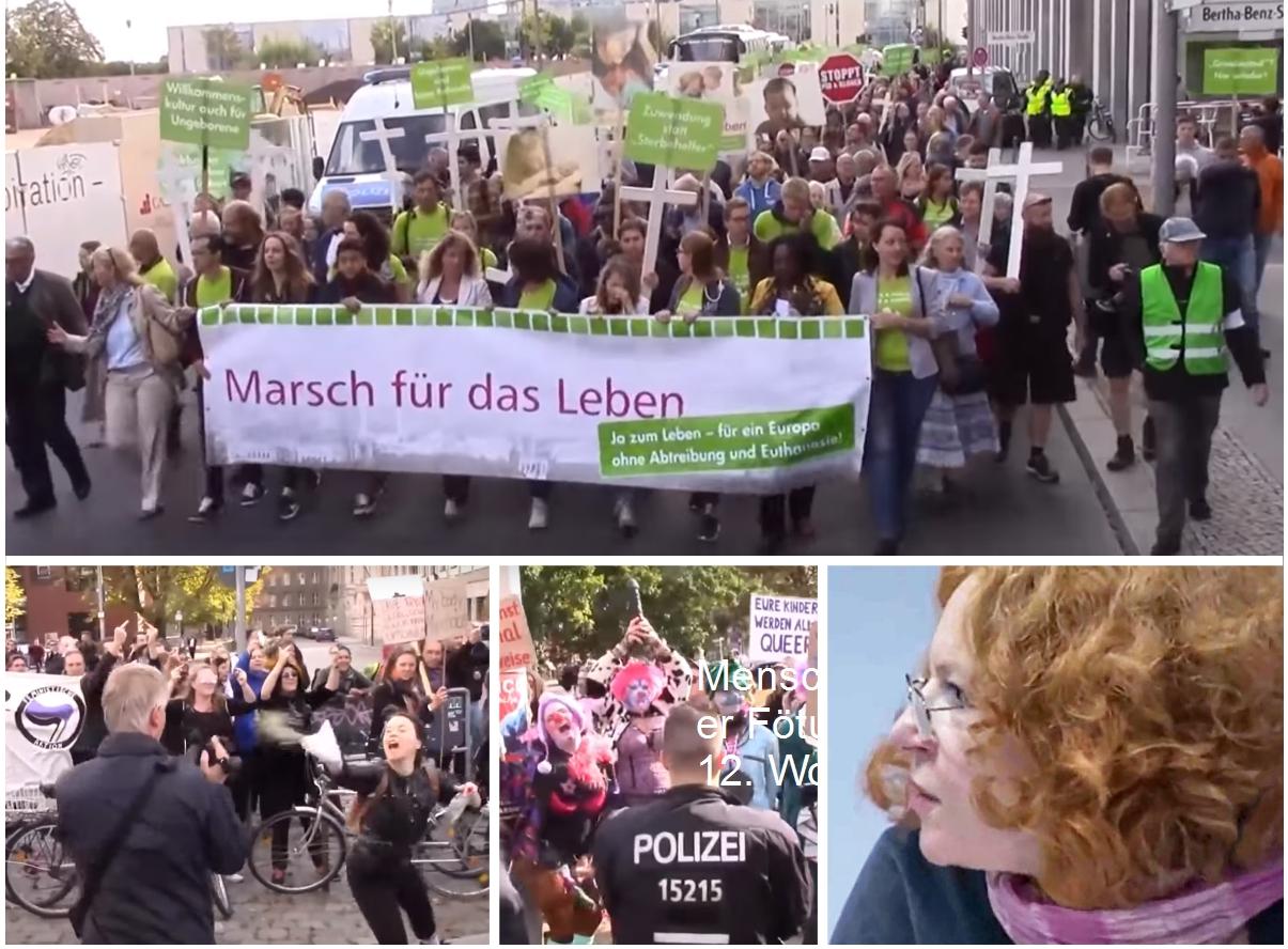 """Der Berliner """"Marsch für das Leben"""", der """"Tanz der Teufel"""" und das Grauen der Frau Kahane"""
