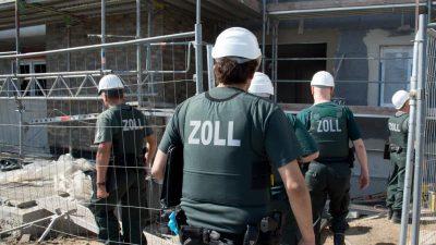 Razzia in Hessen: Zwei Festnahmen gegen mutmaßlichen Schwarzarbeiterring