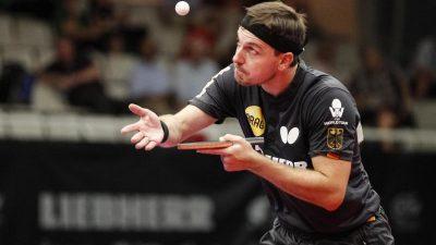 Tischtennis-Ass Boll erreicht EM-Finale