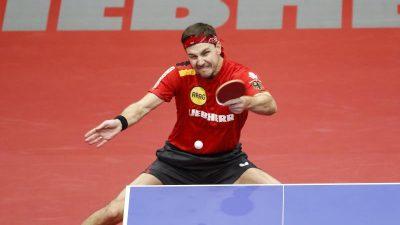 Kraftakt mit 37: Timo Boll zum siebten Mal Europameister