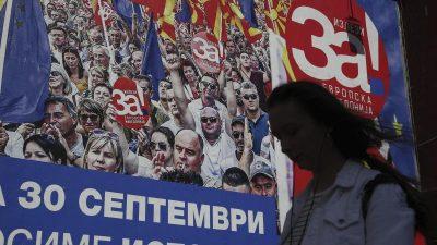 Referendum in Mazedonien gescheitert – Regierungschef sieht Sieg