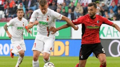 Finnbogason führt FC Augsburg zum Heimsieg