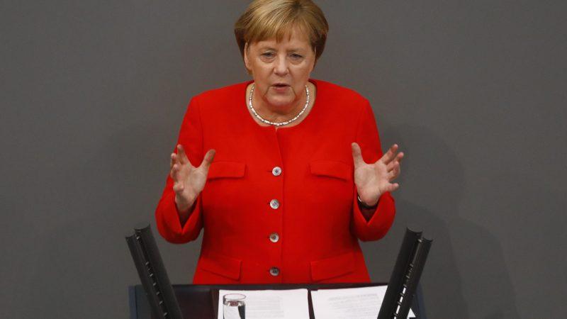 Kanzlerin Merkel Informiert über Eu Gipfel Und G20 Gipfel Im