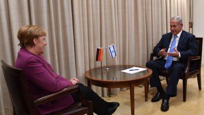 """Merkel: Deutschland trägt """"immerwährende Verantwortung"""" zur Erinnerung an die Schoah"""