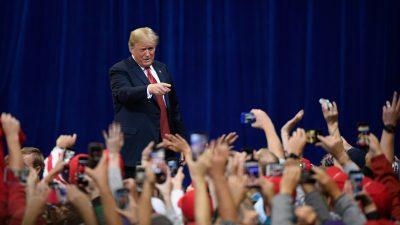 """Trump zuversichtlich in Minnesota: """"Die Demokraten stehen für Sozialismus – und den Leuten gefällt das nicht"""""""