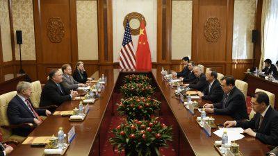 US-Außenminister Pompeo in Peking – China reagiert untypisch kühl