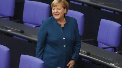 """Regierungserklärung von Kanzlerin Merkel: """"Löschung illegaler Inhalte auf Internetseiten in Europa soll vereinfacht werden"""""""
