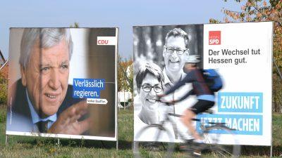 CDU Hessen bietet Grünen Koalitionsgespräche an