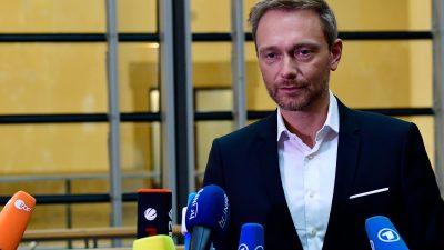 FDP-Chef verteidigt Ausstieg aus Jamaika-Sondierungen