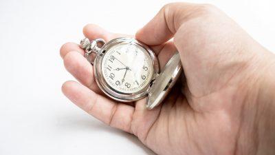 Die Zeit – Von Christian Morgenstern