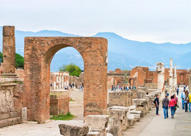 Untergang Pompeji