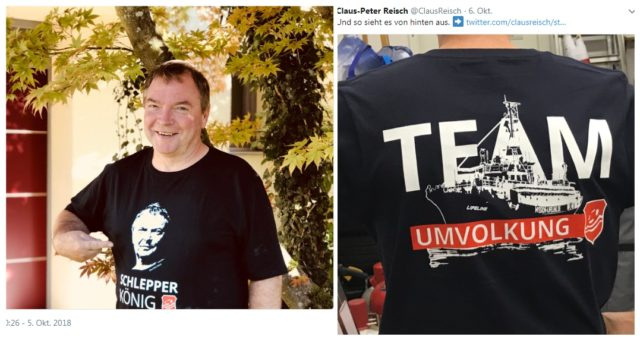 Bildergebnis für Schlepperkönig und Team Umvolkung
