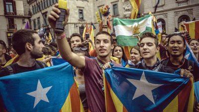 Generalstreik in Katalonien: Protest gegen Separatisten-Prozess