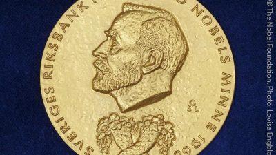 US-Forscher Nordhaus und Romer erhalten diesjährigen Wirtschaftsnobelpreis