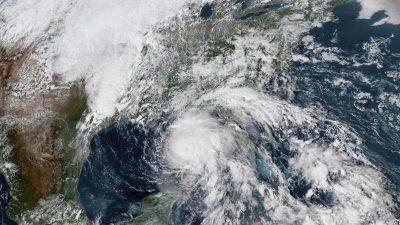 """Hurrikan """"Michael"""" unmittelbar vor der Küste Floridas"""
