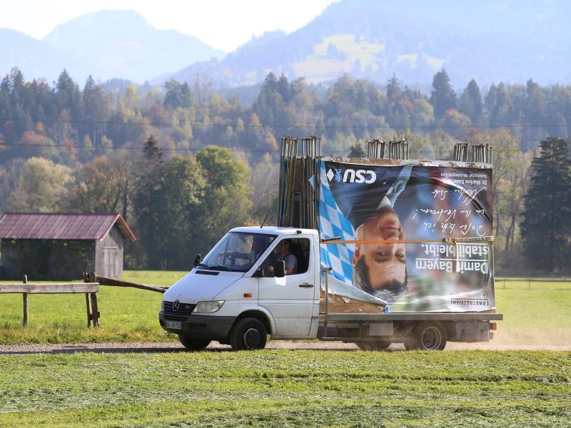 CSU will mit Söder-Plakaten Bundestagswahlkampf machen