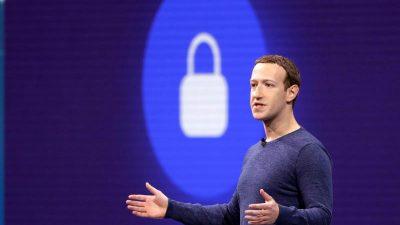 Investoren fordern Rücktritt von Facebook-Chef Zuckerberg