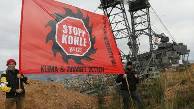 Tagebau Hambach: Räumung der Bahnstrecke – 400 Strafanzeigen gegen Kohle-Aktivisten + Video