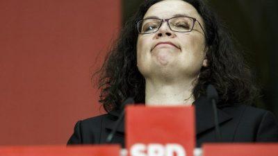 Vor SPD-Vorstandsklausur steigt der Druck auf Nahles