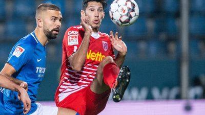 Bochum vergibt Sieg gegen Regensburg