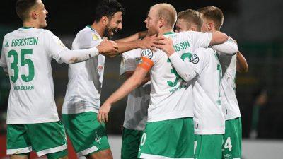 BVB, Schalke und Nürnberg in Verlängerung – Werder weiter