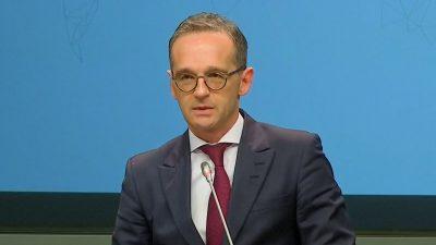 Außenminister Maas wirbt für den Migrationspakt