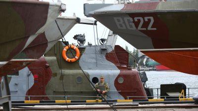 Russischer Außenminister Lavrow zu Marinezwischenfall mit der Ukraine:  Provokation durch die Ukraine + Video