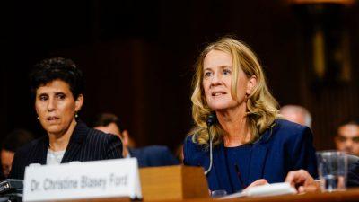 Christine Ford hatte andere Besucher von großer Ähnlichkeit –  war es ein Treffen mit US-Richter Kavanaugh?