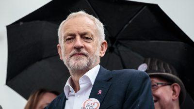 Jeremy Corbyn sieht seine Stunde gekommen