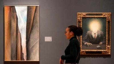 Magritte-Gemälde erzielt Rekordpreis bei Auktion in New York