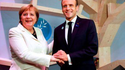 """Bundeskanzlerin Merkel: """"Nationalstaaten sollten heute bereit sein, Souveränität abzugeben"""""""