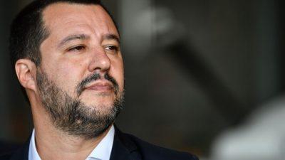 "Salvini zu Coronavirus und Flüchtlingskrise: ""Man kann nicht an der europäischen Bürokratie sterben"""