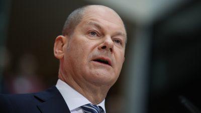 Finanztransaktionssteuer: Scholz schlägt Entlastung für Kleinsparer vor