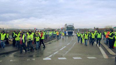 Frankreich: Das Volk ist Gelb
