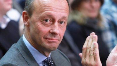 """Merz gegen neue Steuern und Schulden für """"Klimaschutz"""" – Publizist: """"Mäßigung ist Merkel fremd"""""""
