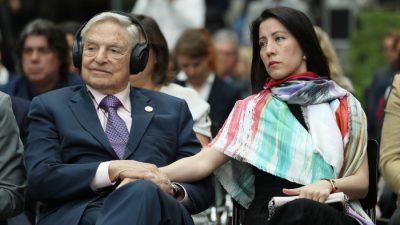 """EU-Kommission warnt vor """"Desinformation"""" gegen sich selbst und Milliardär George Soros"""
