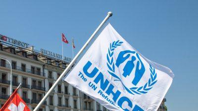 Namenlose Mastercards mit EU- und UNHCR-Logo für Migranten?