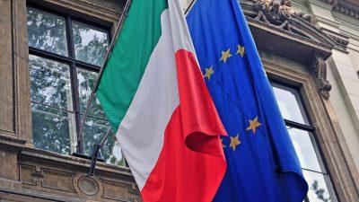 Mit Großmut gegen EU-Kritik und antideutsche Stimmung? Italien darf auf 172,2 Milliarden Euro hoffen