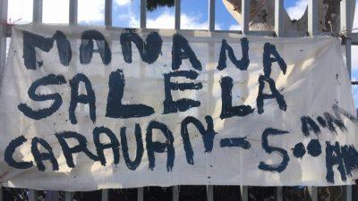 """Honduranischer Migrant: """"20.000 sollen die Grenze gleichzeitig überqueren"""""""