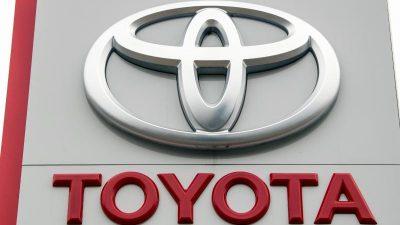 Bericht: Chipmangel führt bei Toyota zu erheblichem Produktionsrückgang