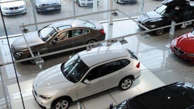 Absatz von Neuwagen in Europa bricht massiv ein